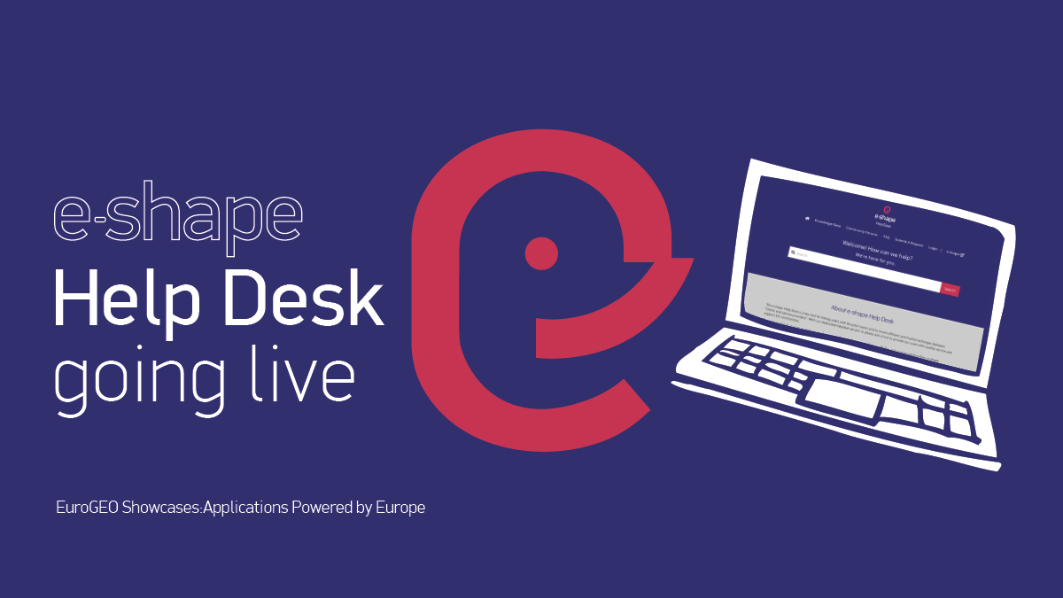 E SHAPE HELPDESK goint live light